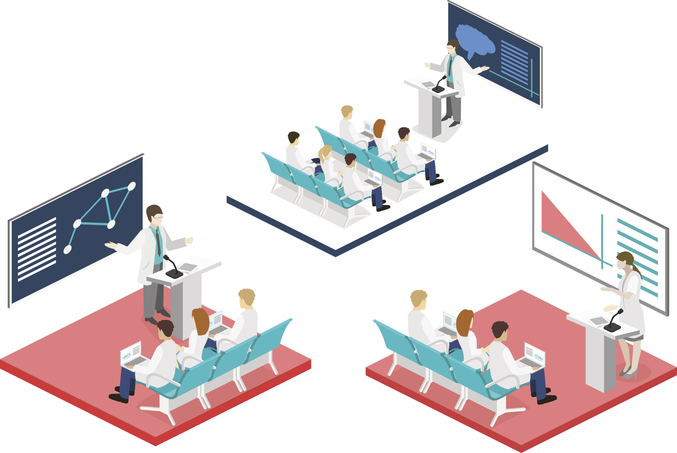 Evènements et e-évènements scientifiques : validation, mise en œuvre, exploitation